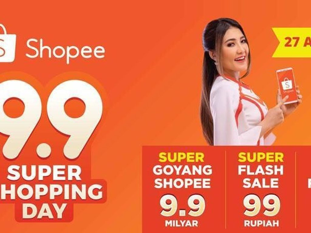 Via Vallen hingga Armada Meriahkan Puncak 9.9 Super Shopping Day