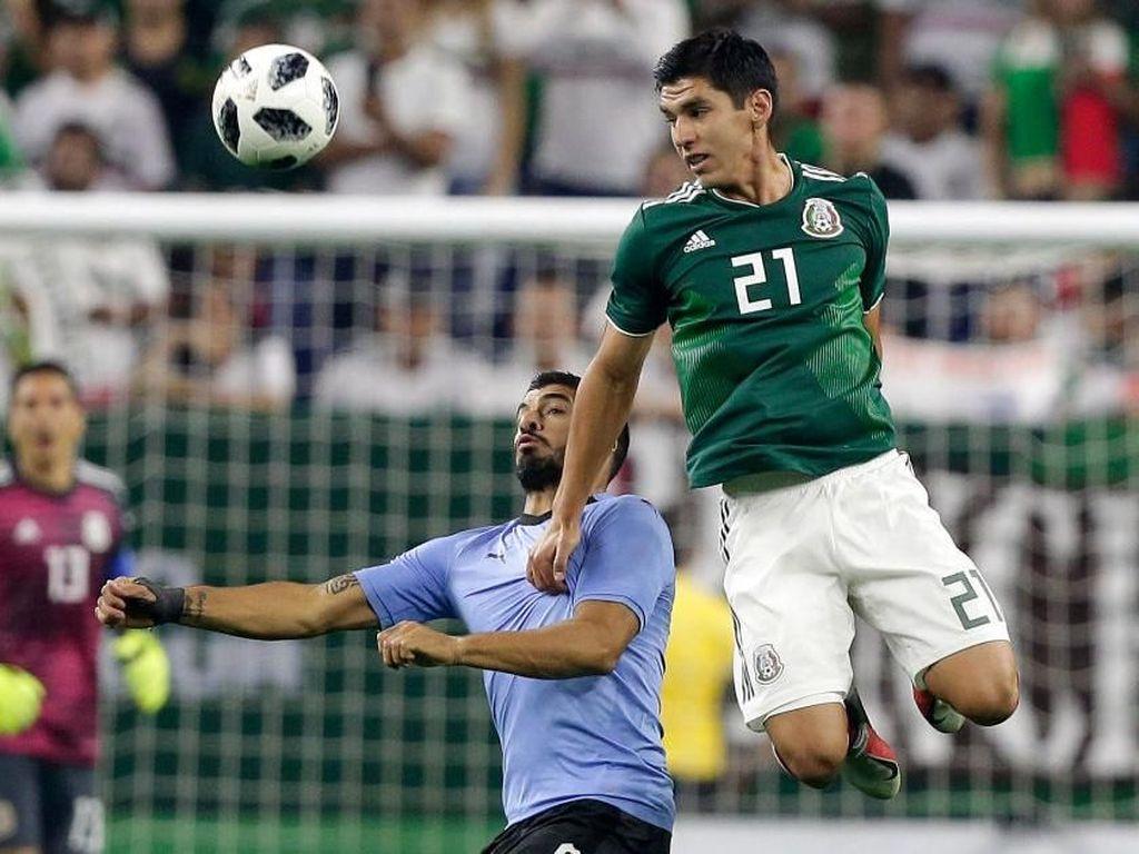 Hasil Uji Coba: Luis Suarez Dua Gol, Uruguay Gasak Meksiko 4-1