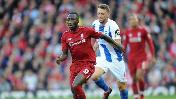 Gelandang Liverpool Naby Keita (Peter Powell/Reuters)