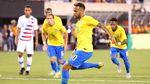 Firmino dan Neymar Antar Brasil Taklukkan AS