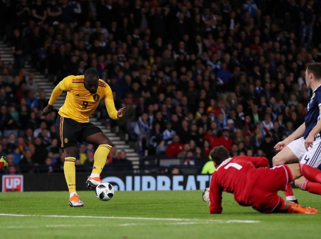Hasil Uji Coba: Belgia Habisi Skotlandia 4-0
