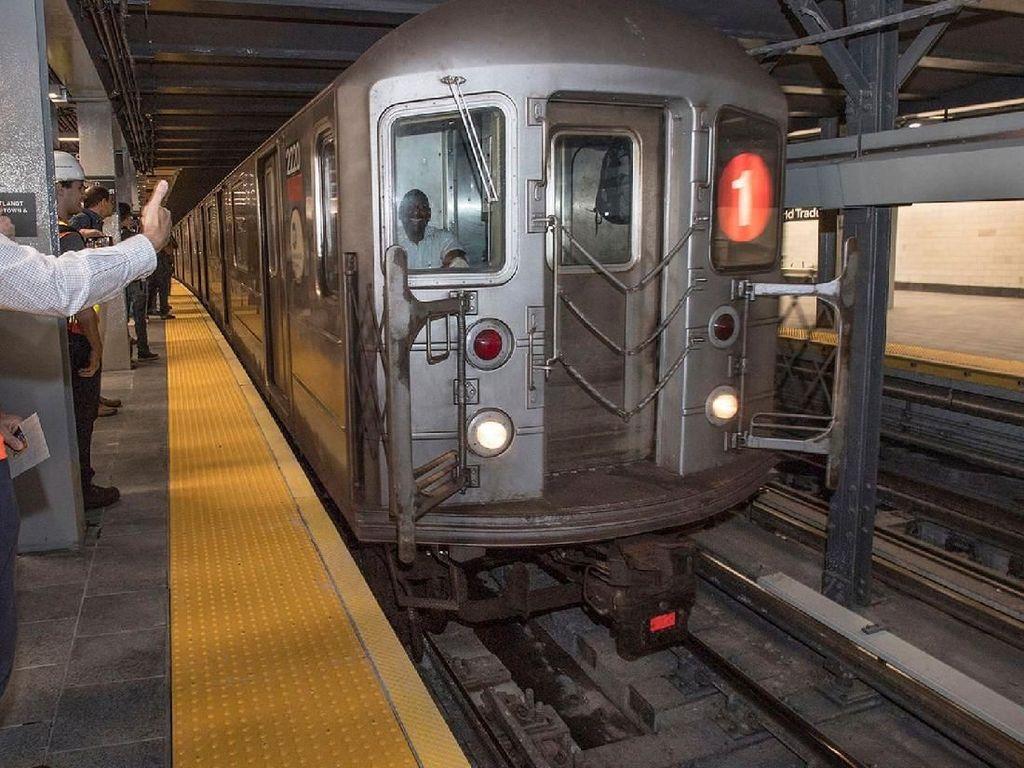 17 Tahun Ditutup Sejak 9/11, Stasiun Subway di NY Dibuka Lagi