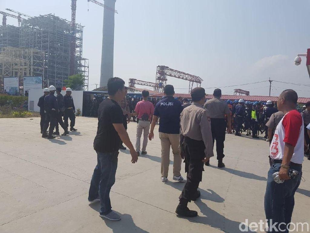 Pukul Pekerja Lokal, TKA Asal China Diamankan Polisi