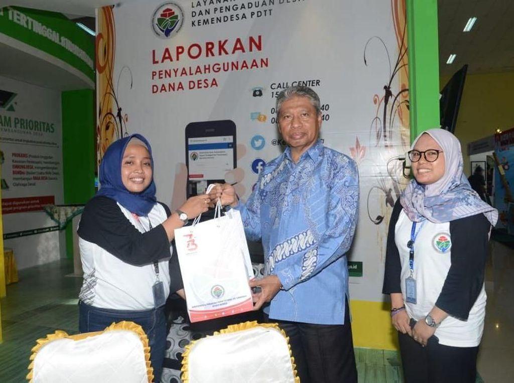 Kemendes PDTT Buka Stan di Pameran Gebyar Haornas di Ternate