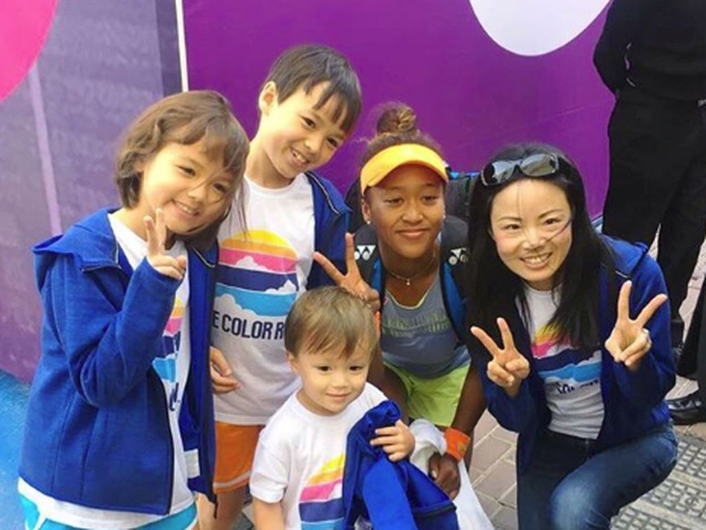 Naomi Osaka, Jawara US Open yang Dekat dengan Anak-anak