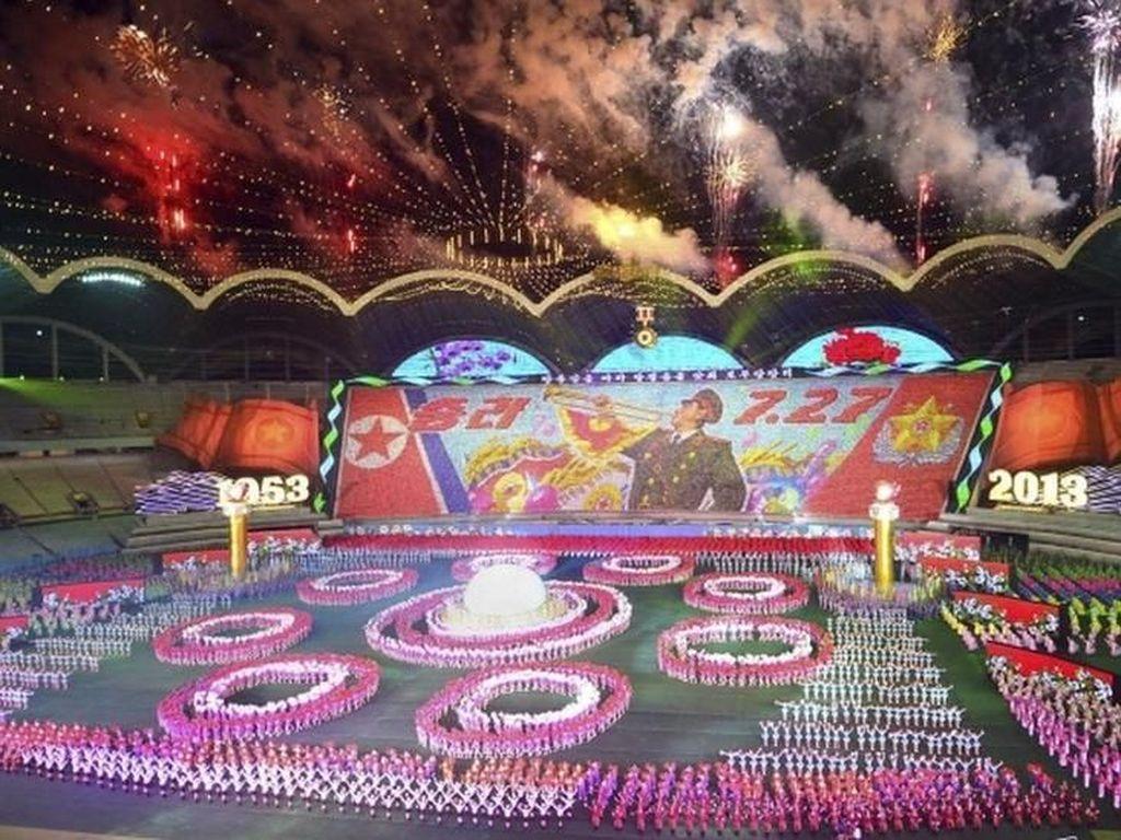 Korut Siap Gelar Parade Militer dan Pesta Olahraga Sambut HUT ke-70