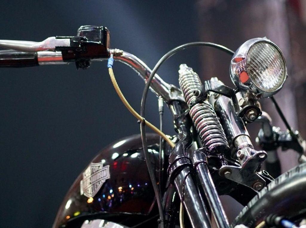 Modifikasi Terbaik Suryanation di Makassar Milik Harley-Davidson Ini
