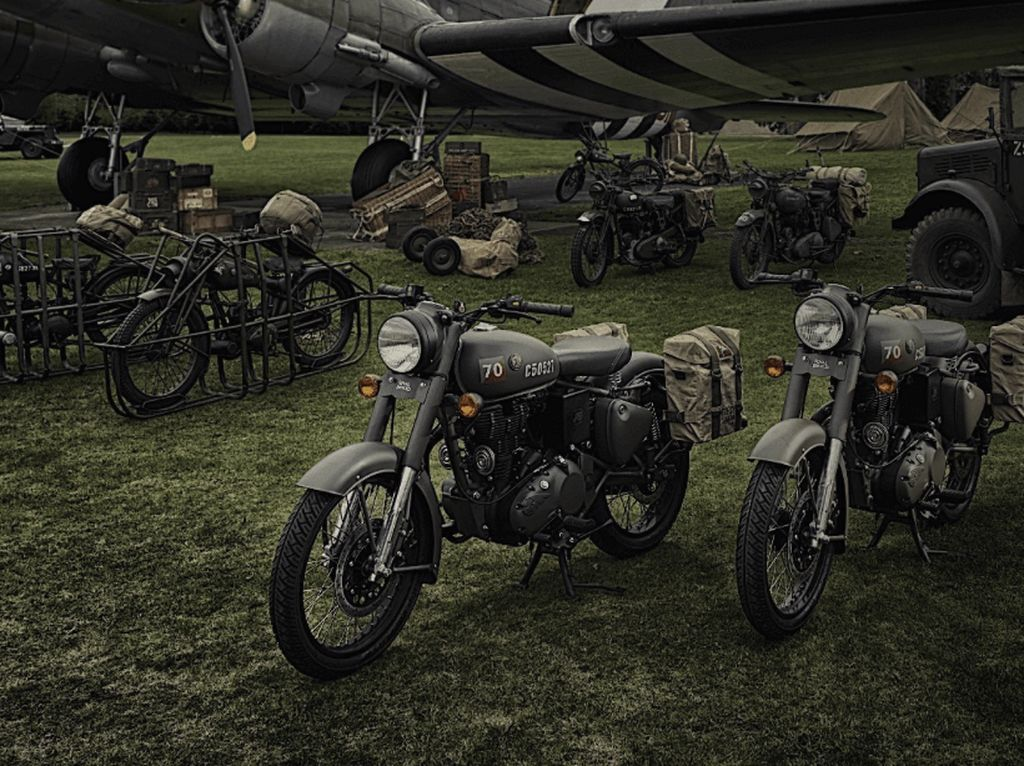 Royal Enfield Edisi Perang Dunia II Masuk Indonesia