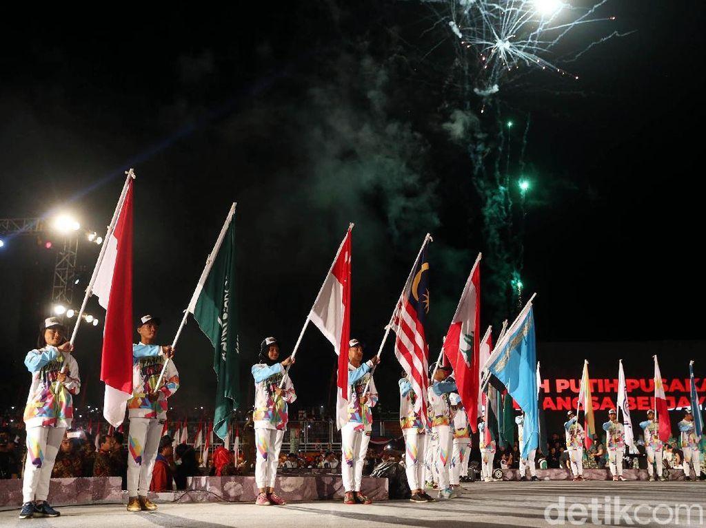 Kemeriahan Perayaan Puncak Hari Olahraga Nasional 2018
