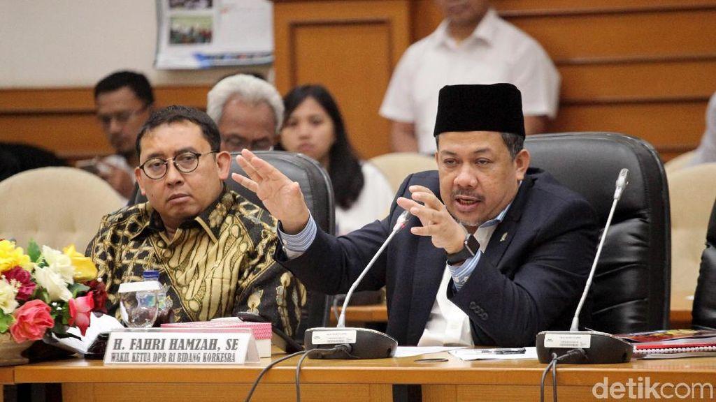 DPR Bahas Gempa Lombok Bersama Menteri