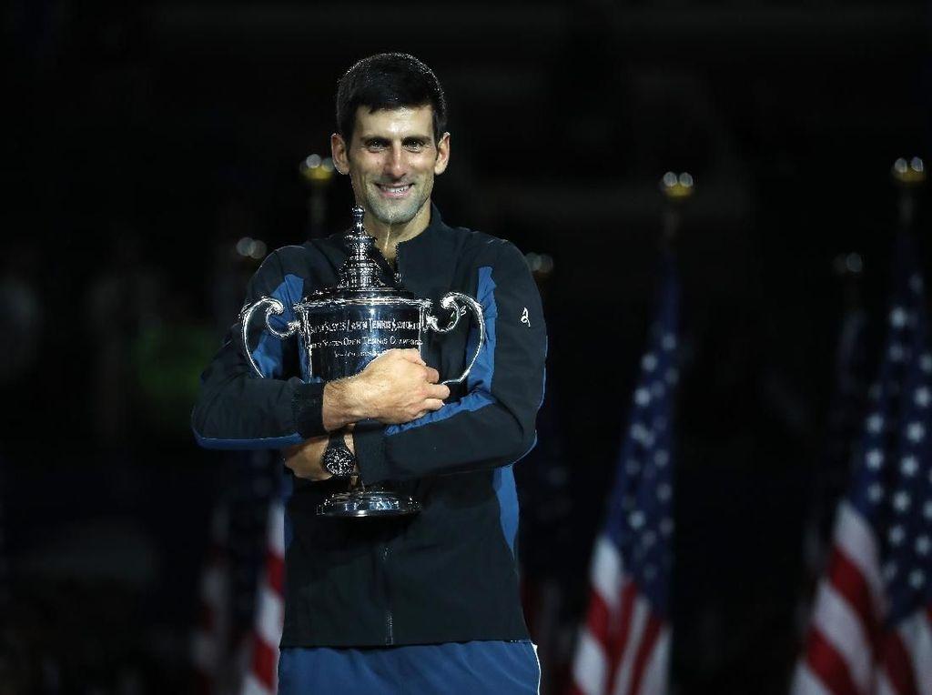 Kalahkan Del Potro Straight Set, Djokovic Juara AS Terbuka 2018