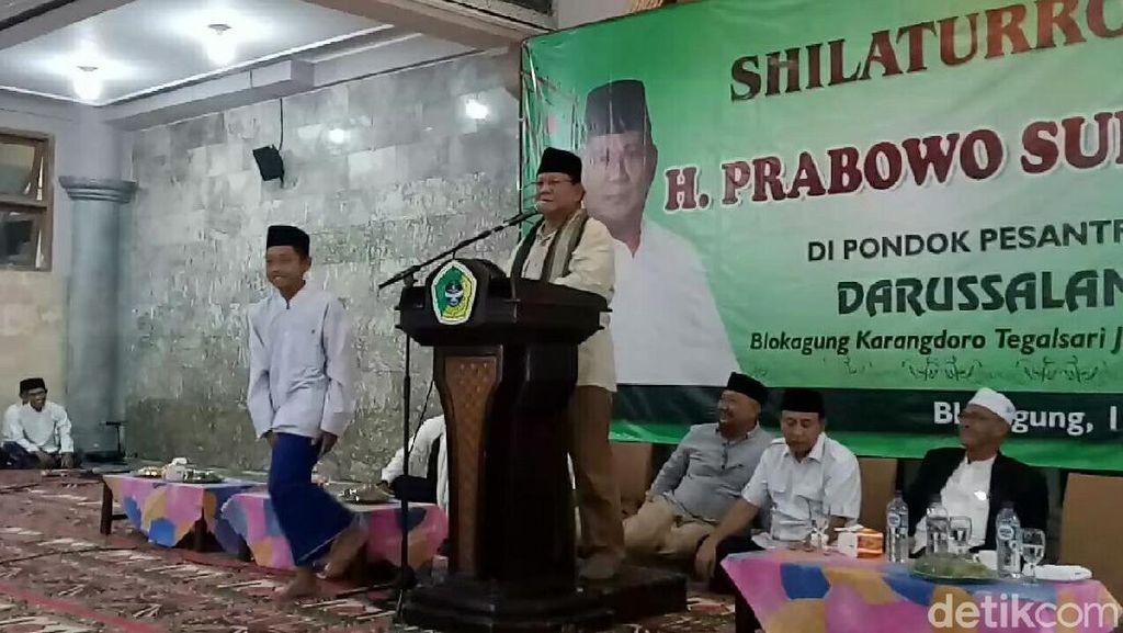 Saat Prabowo Kepleset Sebut Pemenang Piala Dunia 2018