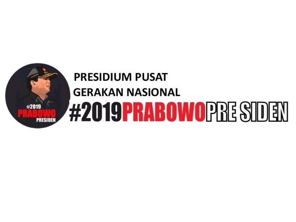 Disebut Bersiasat Nakal, Begini Logo dan Kop 2019PrabowoPresiden