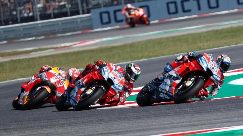 Marquez Akui Tak Punya Kecepatan untuk Salip Rider-Rider Ducati