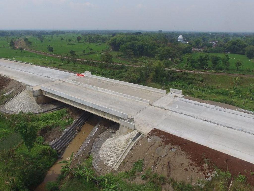Penampakan Terkini Jalan Tol Pandaan-Malang