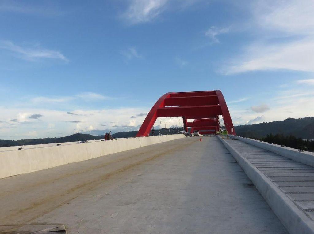 Melihat dari Udara Megahnya Jembatan Holtekamp Ikon Baru Papua
