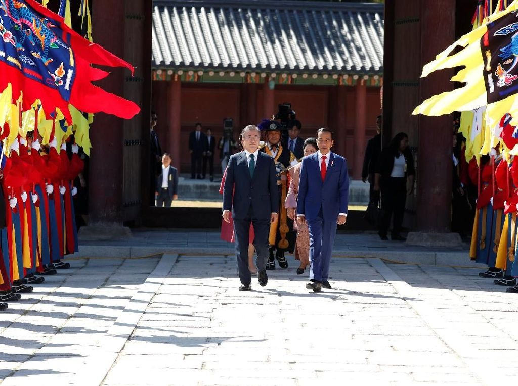 Inilah Istana Changdeokgung, Tempat Penyambutan Jokowi di Korea