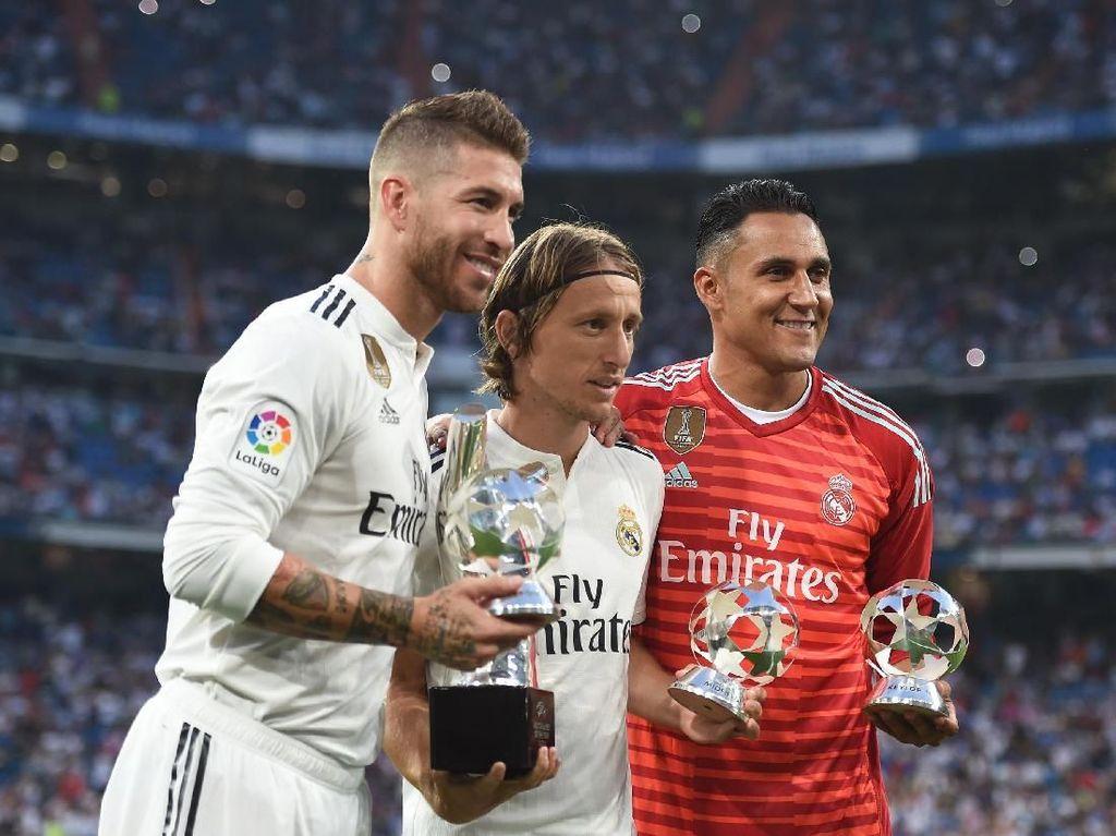 Ramos: Meski Ada yang Lebih Tenar, Modric Pantas Jadi Pemain Terbaik FIFA