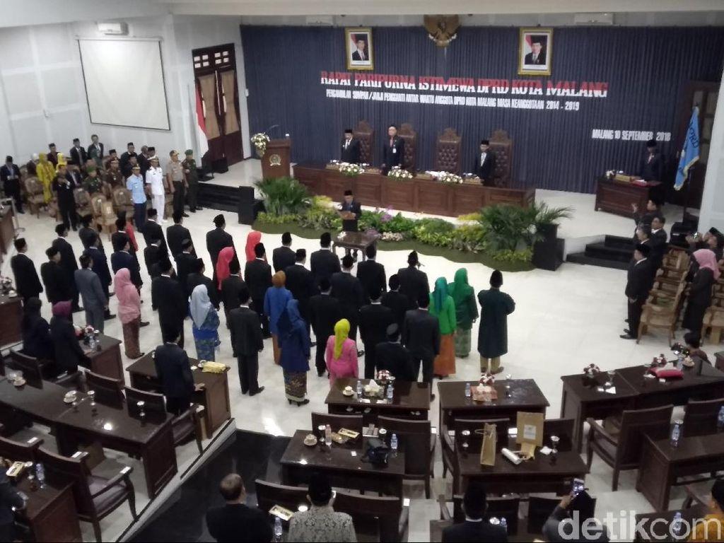 Pasca Dilantik, Ini yang Dilakukan 40 Anggota DPRD Kota Malang