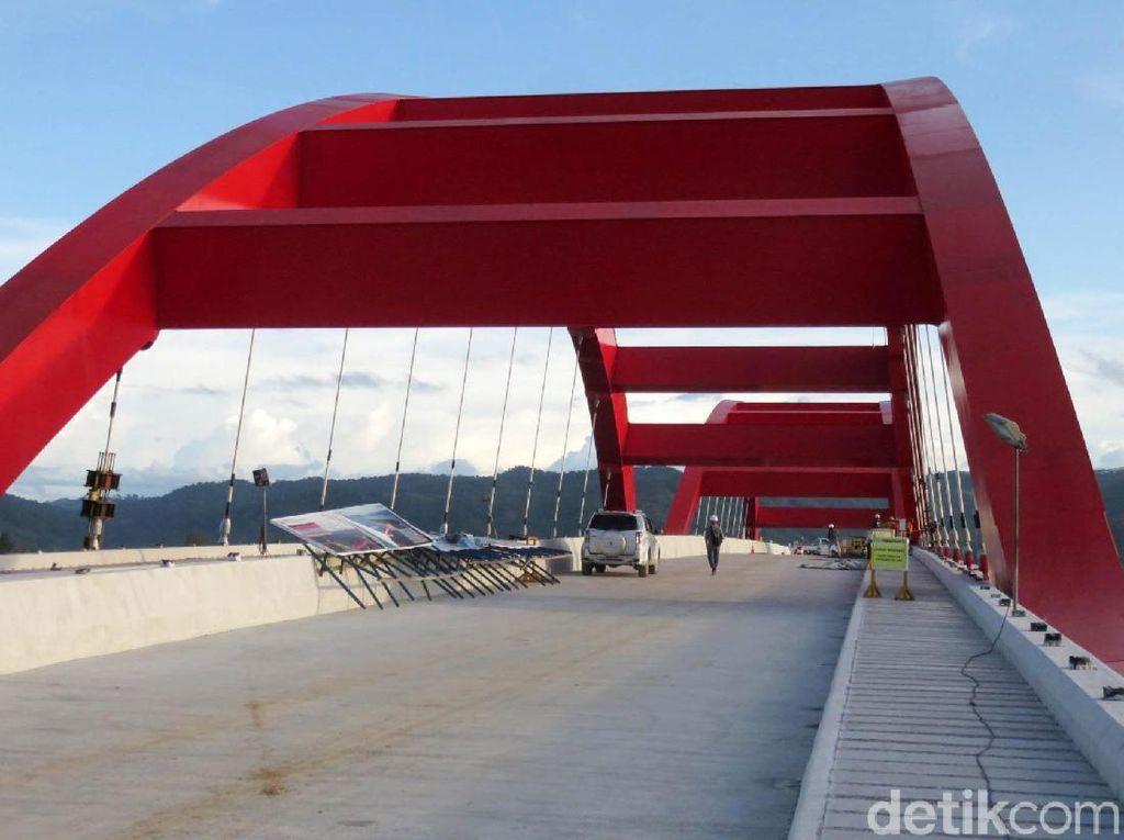 Lewat Jembatan Holtekamp, Jayapura ke Perbatasan Bisa 30 Menit