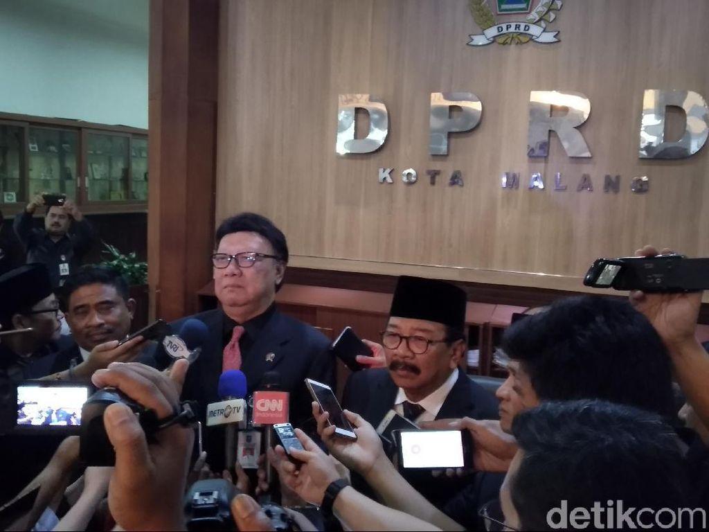 Anggota DPRD Kota Malang Baru Dilantik, Ini Kata Mendagri
