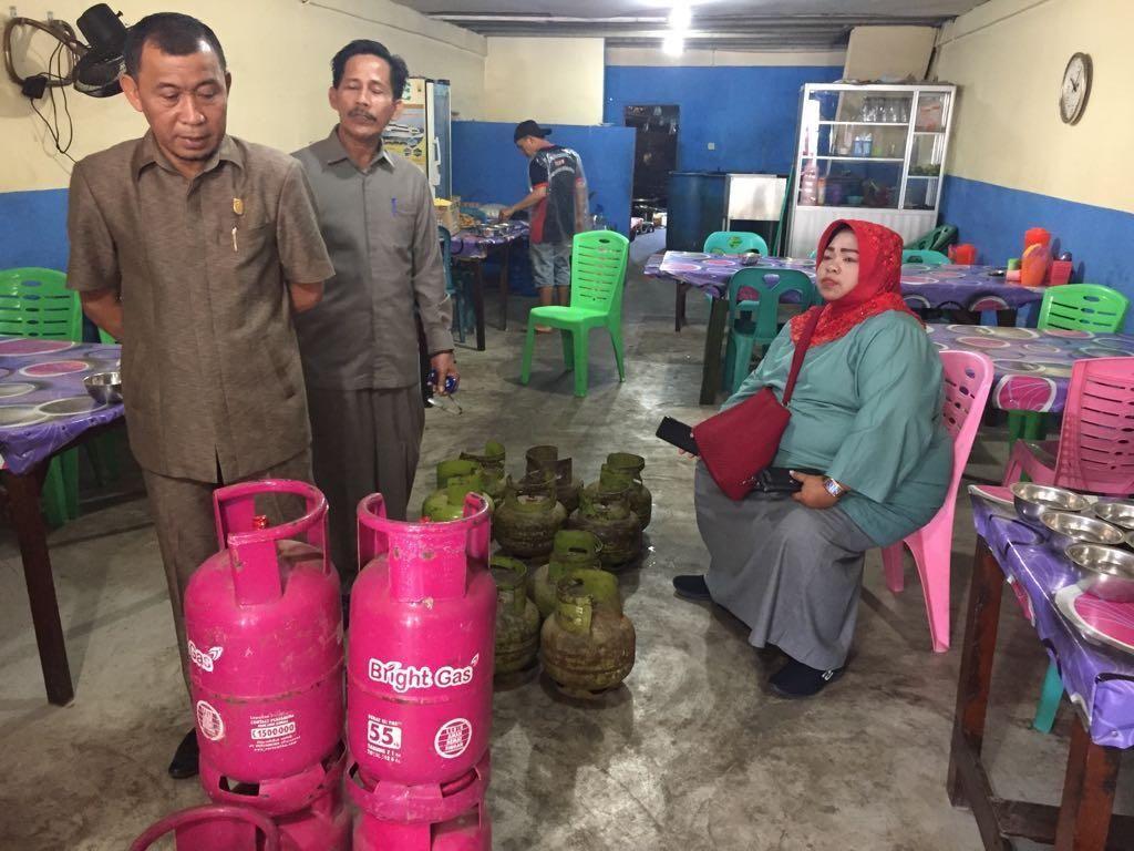 Bareng Disperindag, Pertamina Sidak Penggunaan LPG 3 Kg di Dumai
