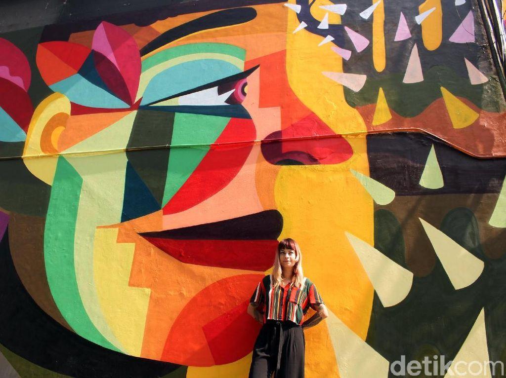 Jakarta Bak Kampung Halaman bagi Seniman Kolombia LeDania