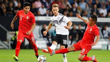 Hasil Uji Coba: Jerman Menang Tipis atas Peru 2-1