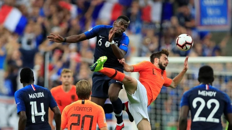 Hasil UEFA Nations League: Prancis Taklukkan Belanda 2-1