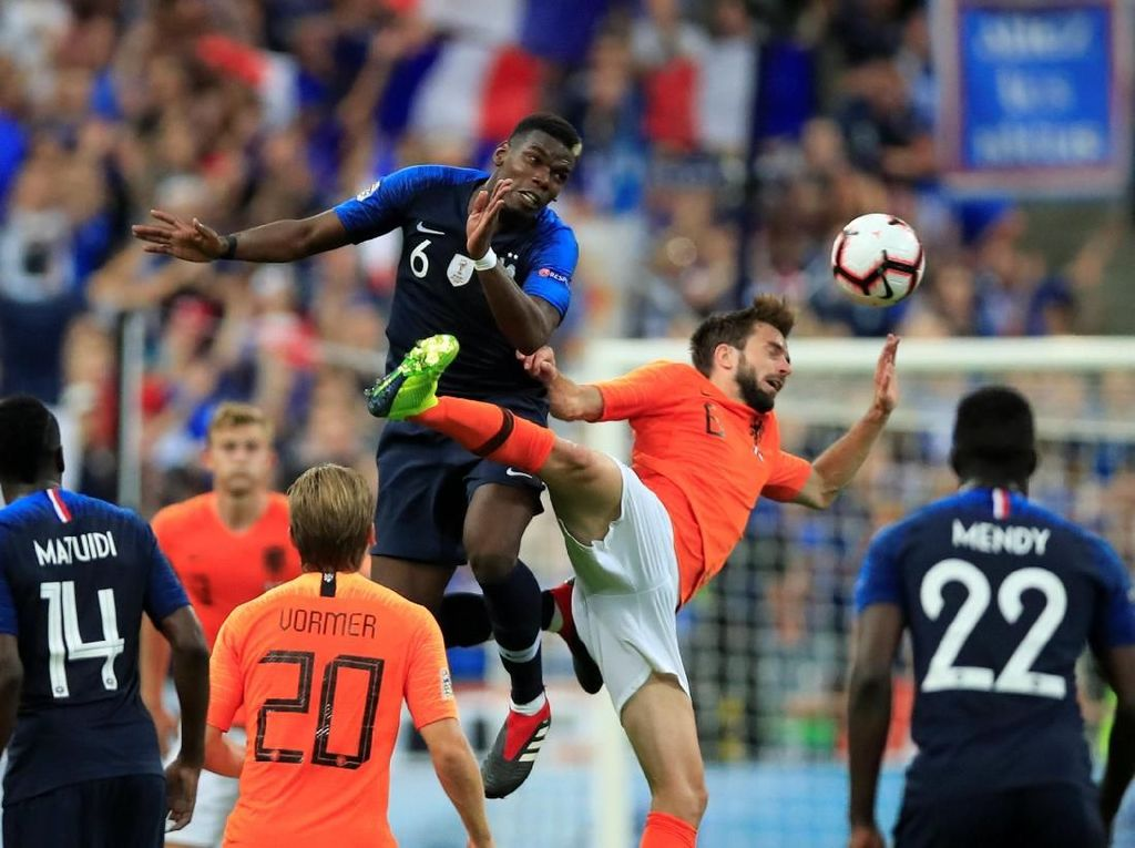 Hasil UEFA Nations League: Prancis Taklukkan Belanda 2-1
