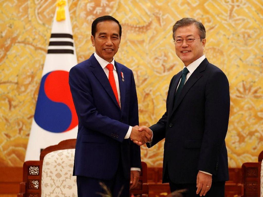 Presiden Korsel Bersurat ke Jokowi, Sampaikan Dukacita Jatuhnya Sriwijaya Air