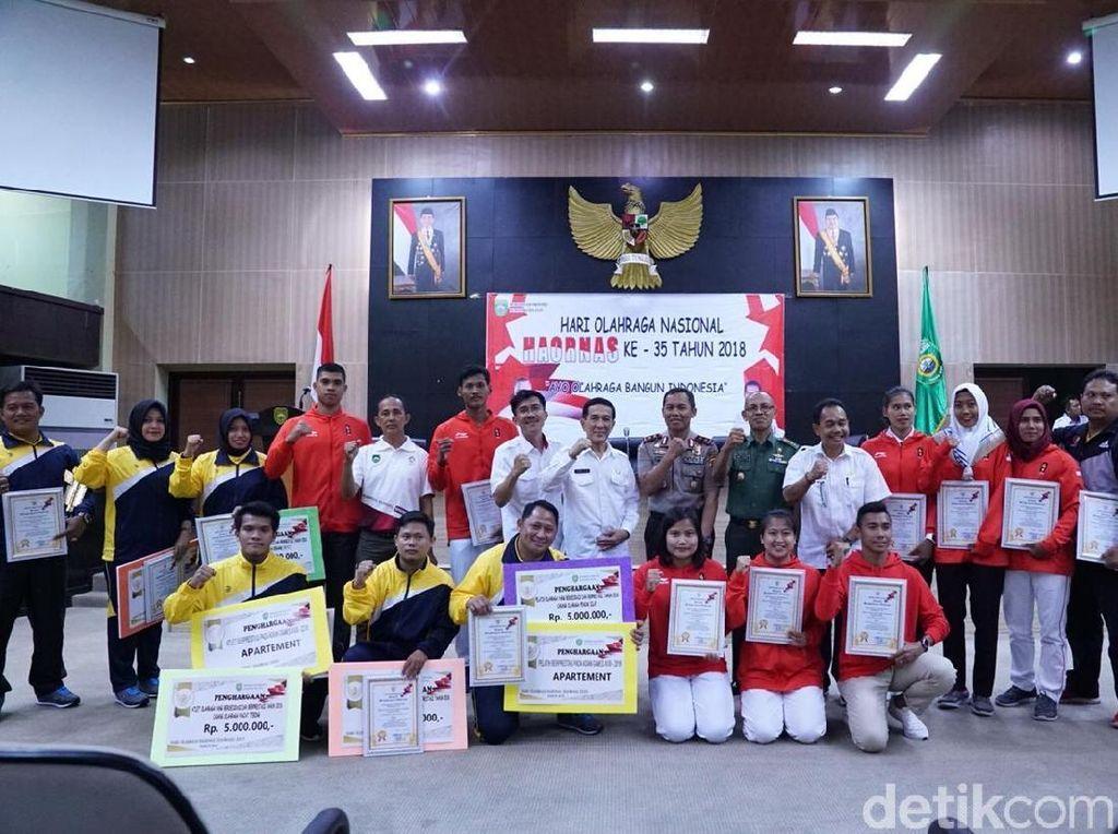 Haornas, Atlet Asian Games Asal Sumsel Terima Bonus dari Gubernur