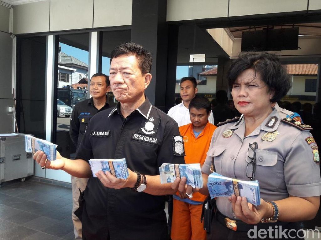 Penyebar Uang Palsu di Bekasi Ditangkap, Beroperasi hingga Bandung