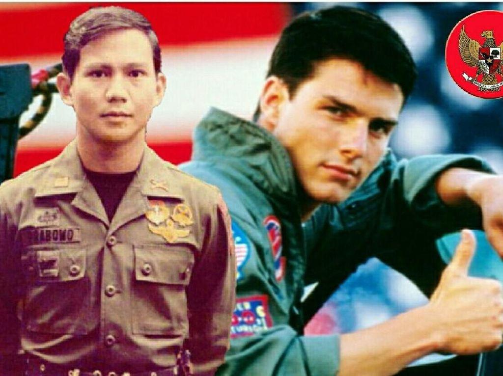 Saat Prabowo Dibandingkan dengan Tom Cruise dan Sandi dengan Siwon