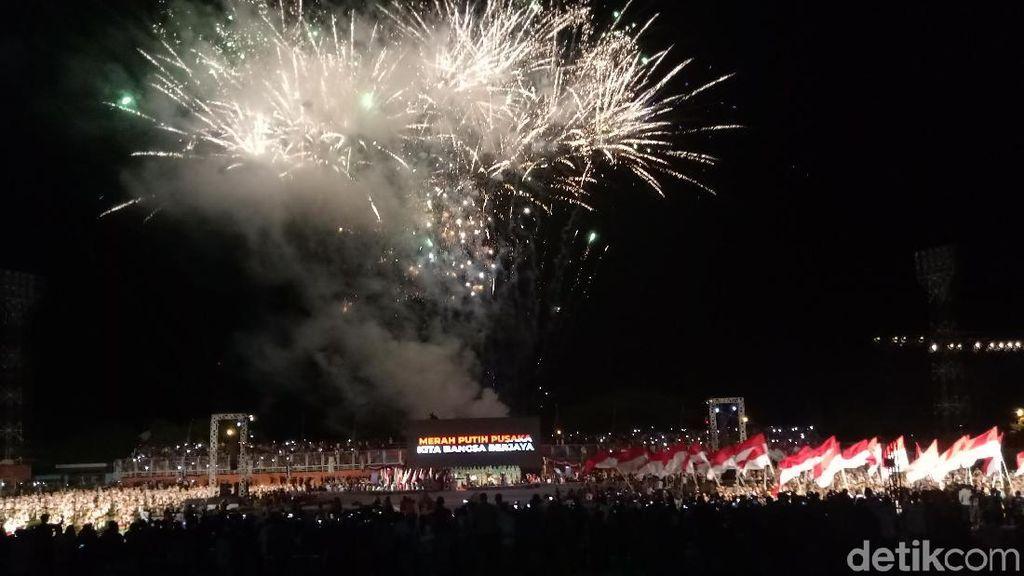 Perayaan Haornas Tetap Berlangsung Meriah di Bawah Guyuran Hujan