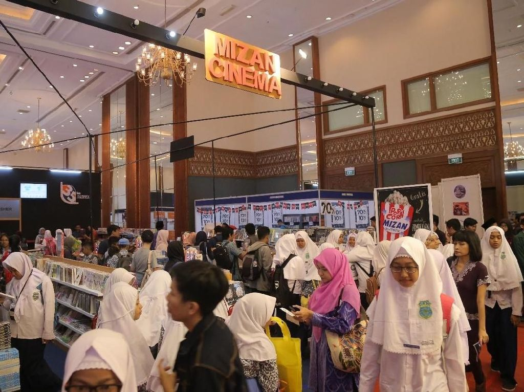 Indonesia International Book Fair 2019 Digelar 4-8 September