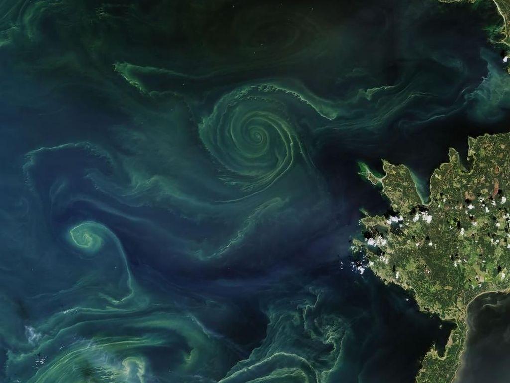 Indahnya Aurora Bawah Laut dari Luar Angkasa