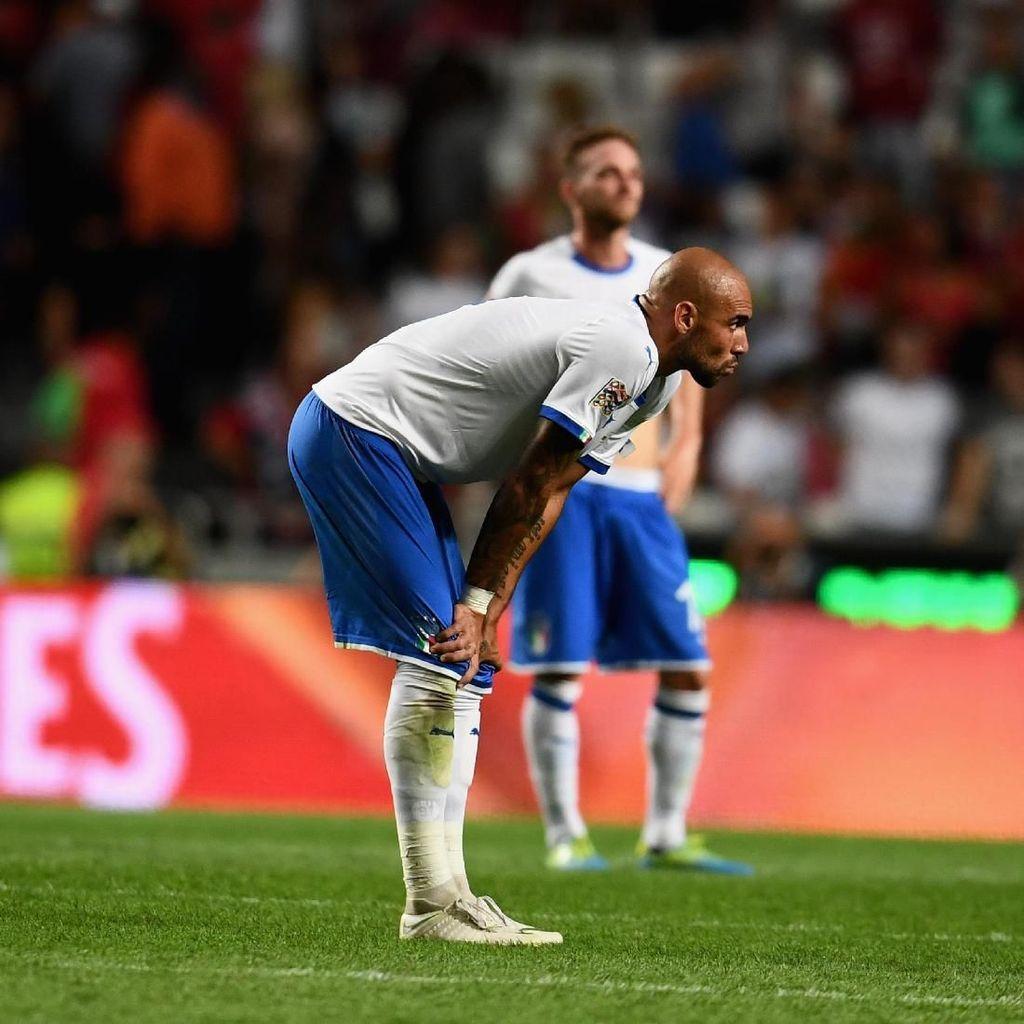 Kalah dari Portugal, Italia Cuma Kurang Cetak Gol