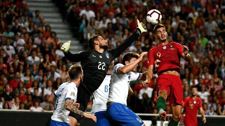 Hasil UEFA Nations League: Portugal Kalahkan Italia 1-0