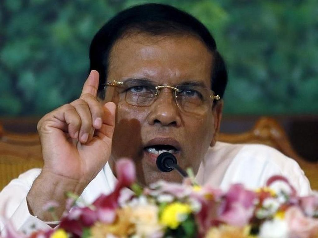 Ini Presiden Sri Lanka yang Ngamuk Diberi Kacang Mete di Pesawat