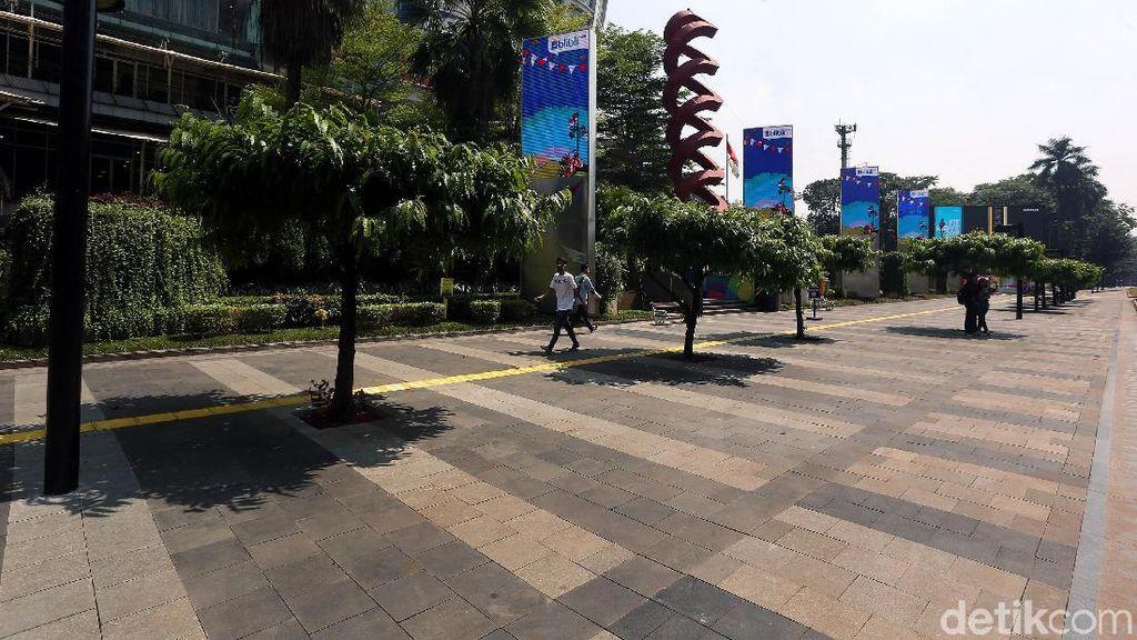 Pasca Asian Games, Jalan MH Thamrin-Sudirman Masih Cantik