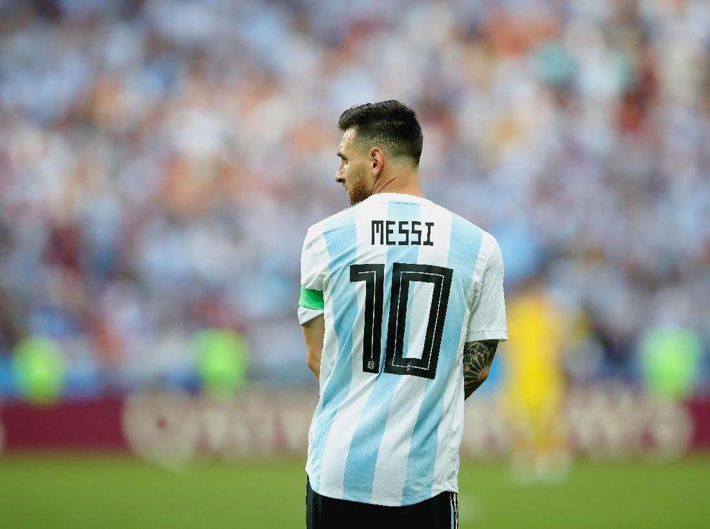 Kartu Merah dan Tangisan Warnai Debut Messi di Timnas Argentina