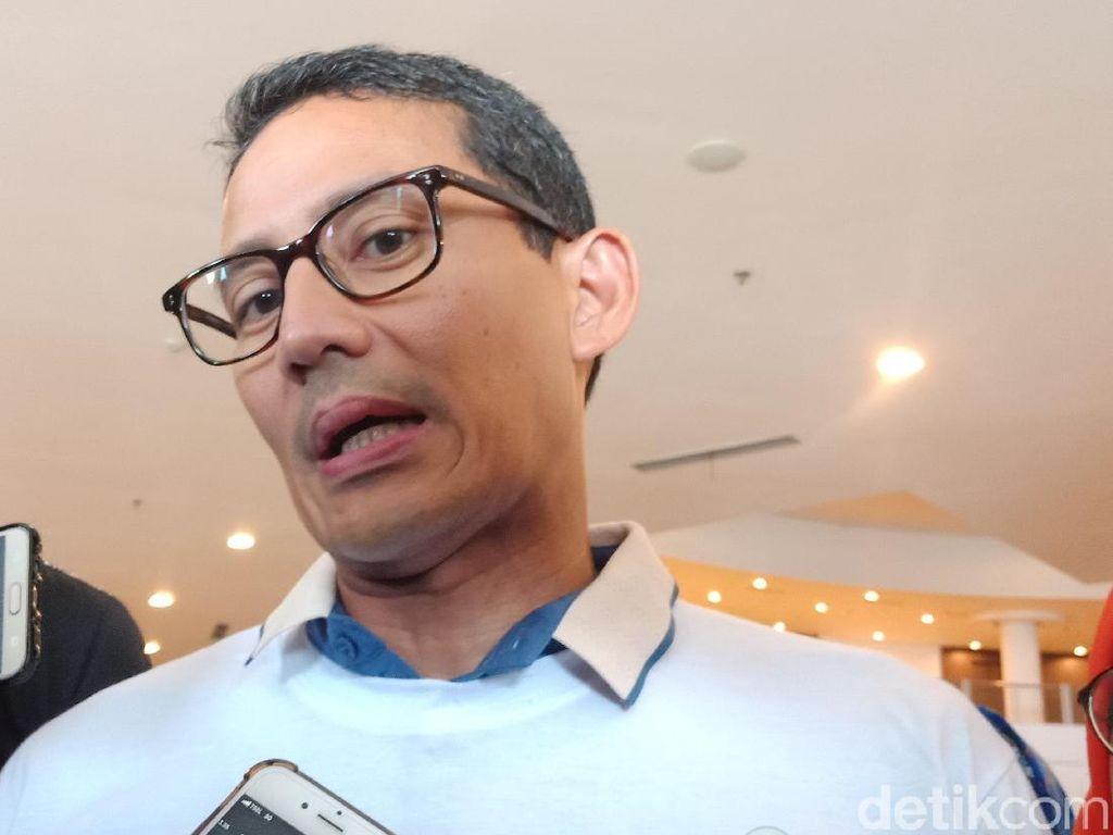 Sandiaga: Yenny Wahid Siapkan Personel untuk Bantu di Pilpres