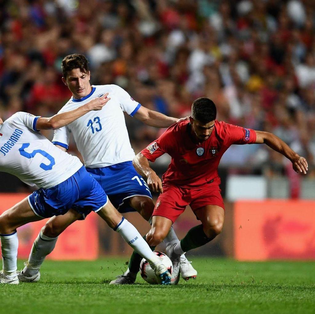 Portugal Layak Menang atas Italia