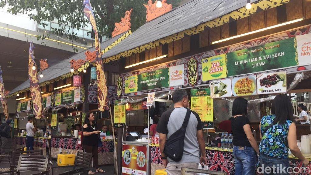 Yuk, Jajan Bubur Pedas dan Bakmi Kepiting  Pontianak di Pesona Bumi Borneo!