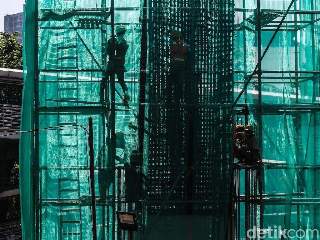 Atasi Ekonomi Loyo, RI Mesti Cari Rp 5.000 T untuk Infrastruktur