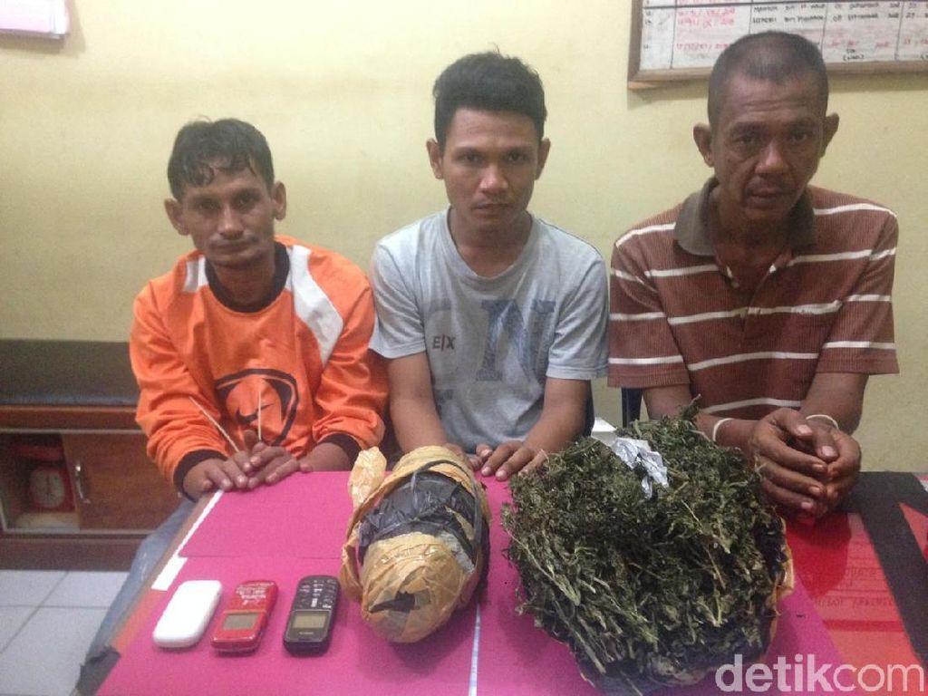 3 Napi di Aceh Kepergok Simpan Ganja di Penjara
