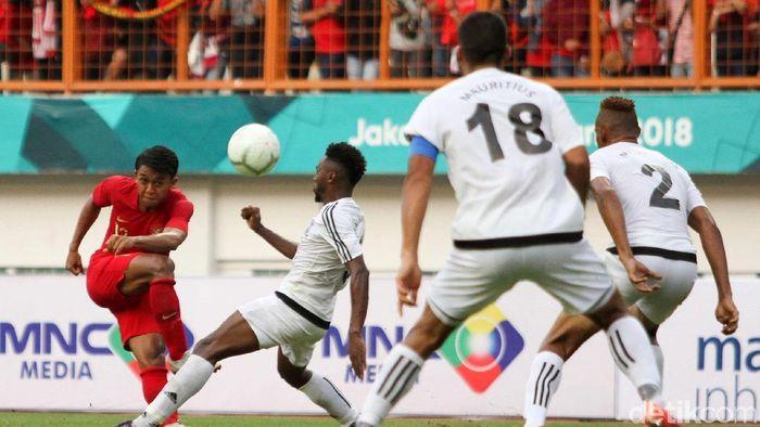 Timnas Indonesia dinilai main sangat oke oleh pelatih Timnas Mauritius. (Foto: Rifkianto Nugroho/detikSport)