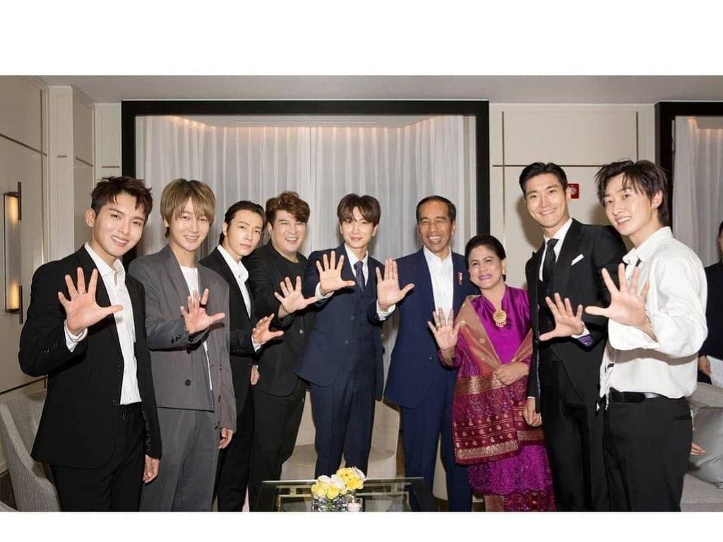 Super Junior Ikut Doakan Korban Gempa Palu dan Donggala