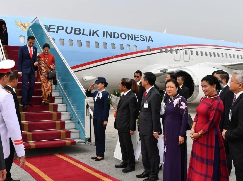 Jokowi-Presiden Vietnam Sepakat Kerja Sama Perdagangan hingga ZEE